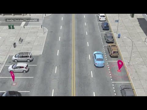 Hamburg: Digitales Parkleitsystem soll Autofahrern helf ...