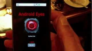 Android Eye - Computer Vision YouTube video