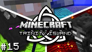 Minecraft: Trinity Island Hardcore Survival Ep. 15 - INTO THE NETHER