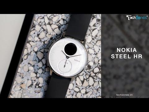 Đập hộp và giới thiệu Nokia Steel HR