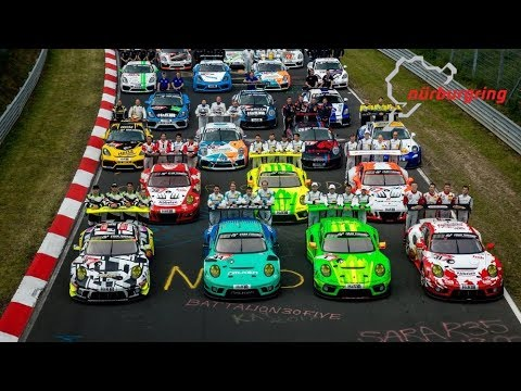 Porsche At Nurburgring 24 Hours 2019 - Highlights