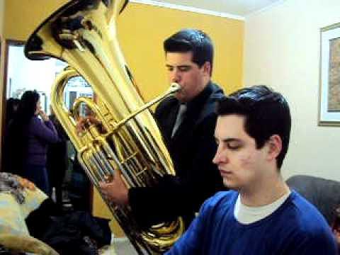 Hino Novo CCB - Cristo, meu Mestre!           Orgão e Tuba