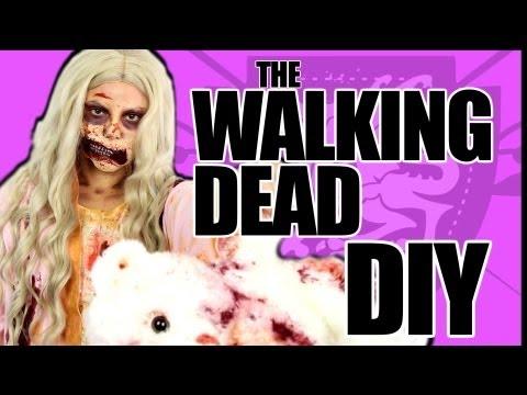 Walking Dead Zombie Girl Costume Tutorial