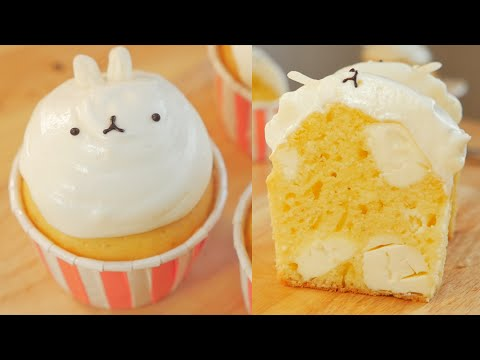 Molang(Bunny) Cakes Cream cheese Cupcakes w/ Sweet The Mi