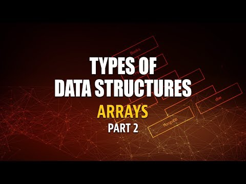 Types Of Data Structures | Implementation of Arrays in JavaScript | Part 2 | Eduonix