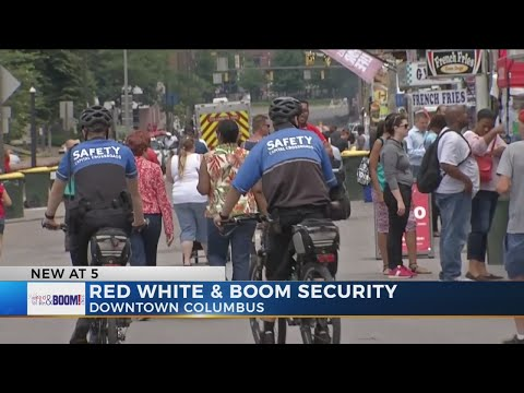 Columbus Police share tips for keeping family, possessions safe during Red White & BOOM!