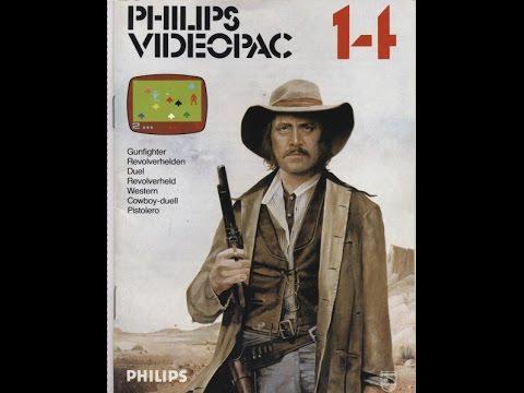 Nr. 14 Revolverhelden | Philips Spielekonsolen | G7000 / G7400 / Videopac / Videopac+