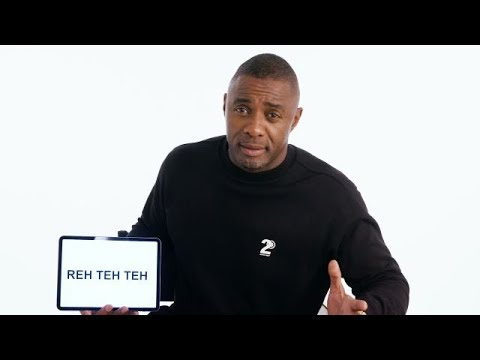 Idris Elba Explains British Slang