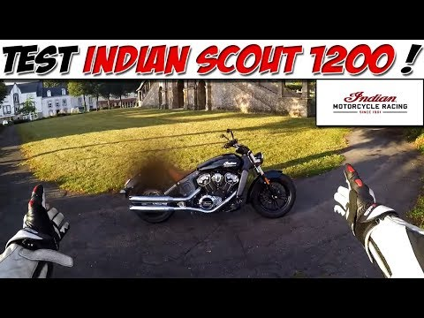INDIAN SCOUT 1200 1er main