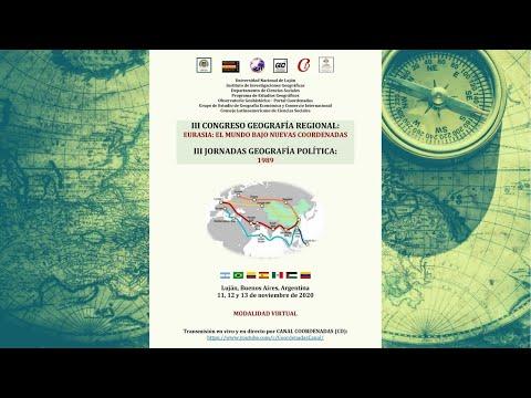 Día 2 - III Congreso de Geografía Regional y III Jornadas de Geografía Política видео