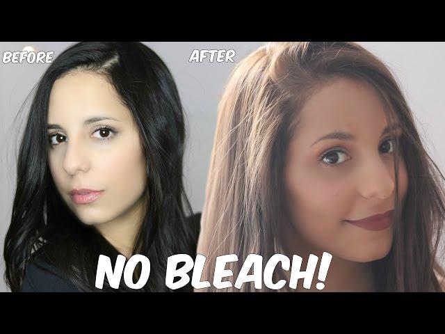 Diy Lighten Dark Hair Without Bleach At Home