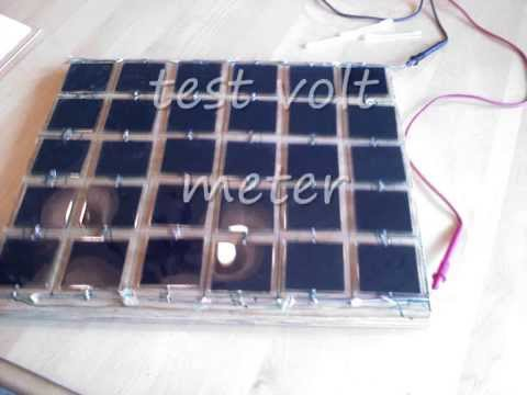 Home built solar power system