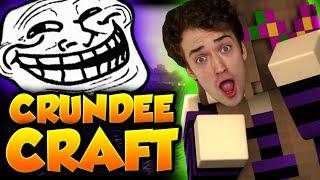 Minecraft: GERTRUDE = CRAINER TROLL | CRUNDEE CRAFT