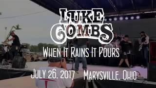 Luke Combs - When It Rains It Pours (Live) Mp3