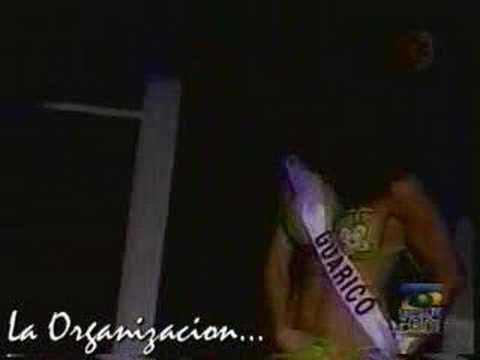 Miss Venezuela pierde la tanga