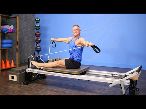 Full Pilates Reformer Fitness Workout