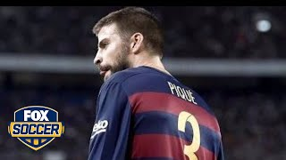 Barcelona defender Gerard Pique had an interesting comment about referees. SUBSCRIBE to get the latest FOX Soccer content: ...