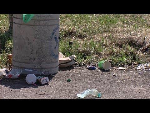 """""""Свинство-стайл"""": як зелені зони Рівного після вихідних """"тонуть"""" у смітті [ВІДЕО]"""