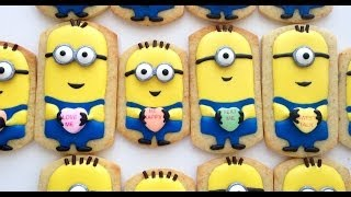 How To Decorate Minion Cookies