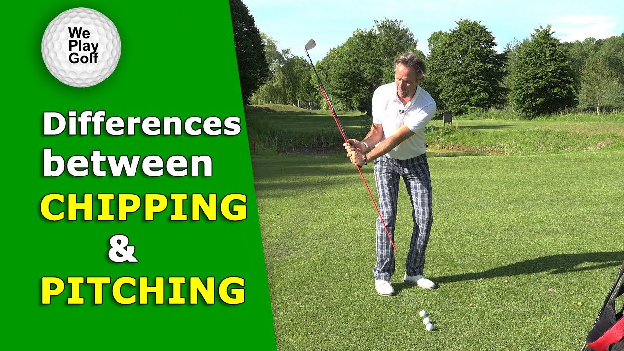 The difference between chipping and pitching explained