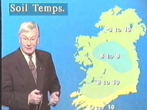 RTE TV Weather Forecast 1994