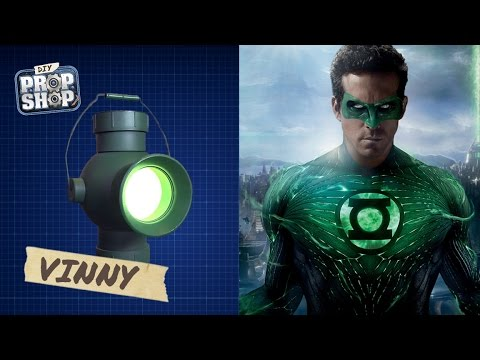 How to Build Your Own Green Lantern Power Battery