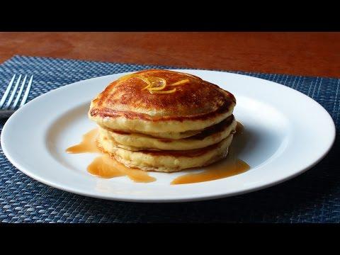 Lemon Ricotta Pancakes - Easy Lemon Pancakes Recipe