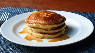 Lemon Ricotta Pancakes - Easy Lemon Pancakes Recipe by Food Wishes