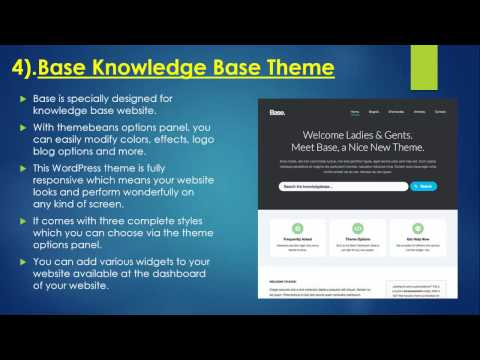 15 Best Knowledge Base & Wiki WordPress Themes & Plugins