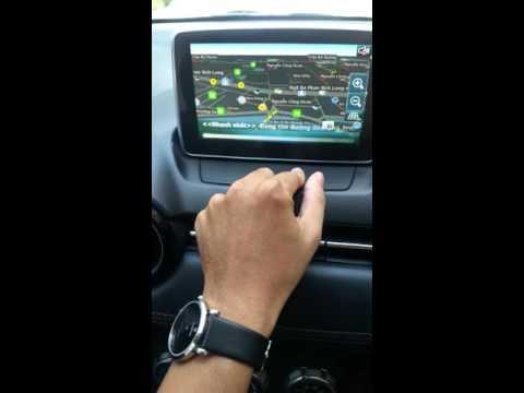 phần mềm dẫn đường vietmap cho màn hình DVD xe mazda
