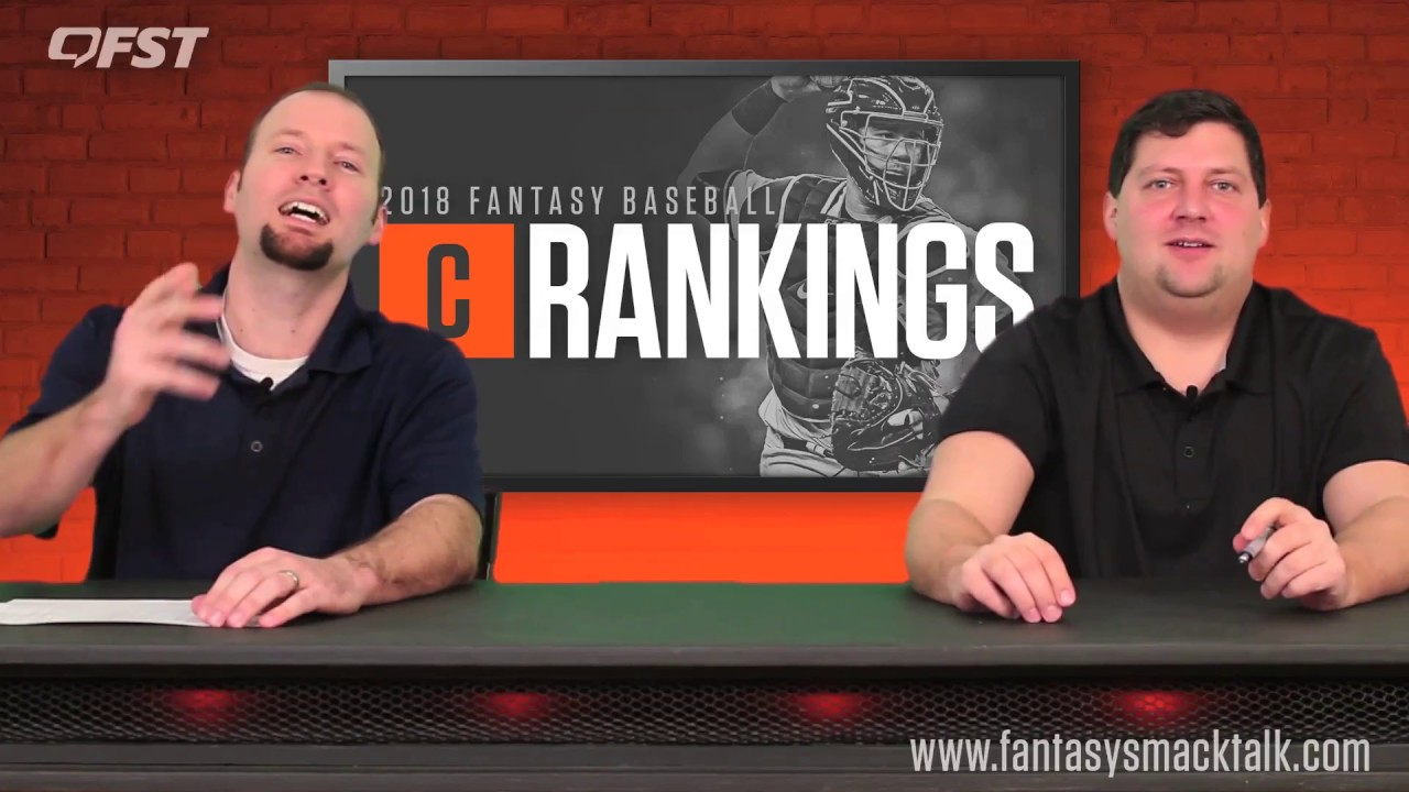 2018 Fantasy Baseball Catcher Rankings thumbnail