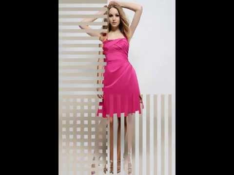Fuchsia Bridesmaid Dresses | Fuchsia Bridesmaid Party Gown