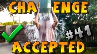CHALLENGE ACCEPTED! #41 [ICE BUCKET!]