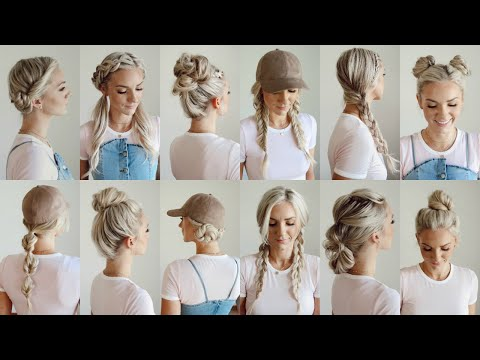Easy hairstyles - 12 Easy Gym/Workout Hairstyles