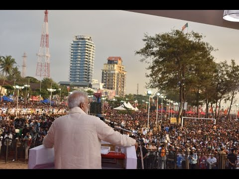 PM Modi's Speech at a Public Meeting in Kozhikode, Kerala