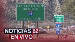 Detenido responsable de dejar a un niño herido en San Bernardino. – Noticias 62. - Thumbnail