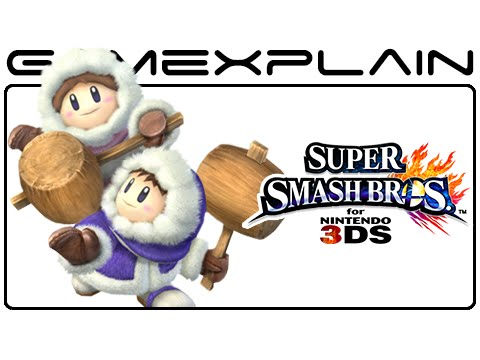 3ds - http://www.GameXplain.com Even though Ice Climbers aren't playable in Super Smash Bros. 3DS, that doesn't mean all traces have them were cut! There's a glitch (or easter egg) that has the audience...