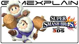 Ice Climbers Glitch in Super Smash Bros. 3DS