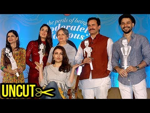 Kareena Kapoor, Saif Ali Khan Launch Soha Ali Khan