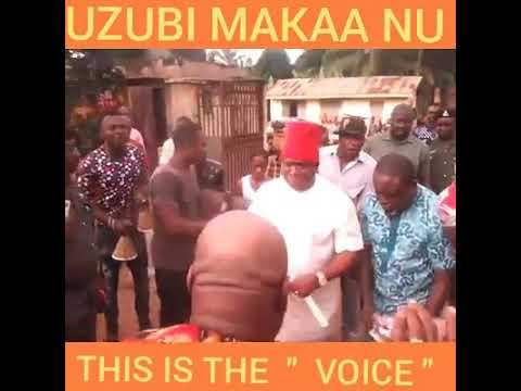 CHIEF SIR DR. VICTOR UMEH STORMS EZIOWELLE FOR THIS YEAR NEW YAM FESTIVAL . Eziowelle In Idemilli No