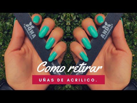 Videos de uñas - COMO RETIRAR UÑAS DE ACRÍLICO EN CASA  Dann Sánchez  Lima Para Uñas AND Accessories