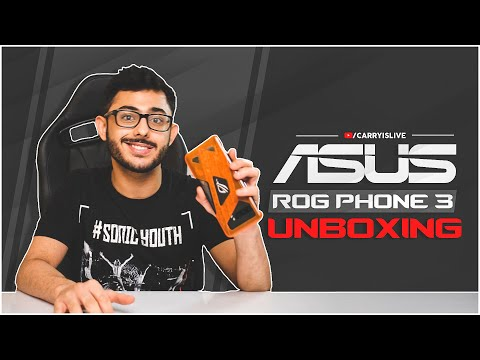 UNBOXING A GAMING BEAST - ASUS ROG PHONE 3