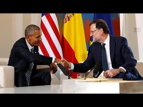 Ισπανία: Εύσημα Ομπάμα σε Ραχόι