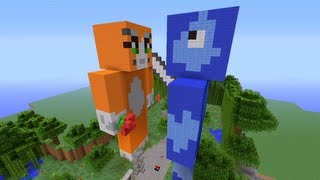 Minecraft Xbox - Tutorial -  Kryptic Kingdom - Part 1