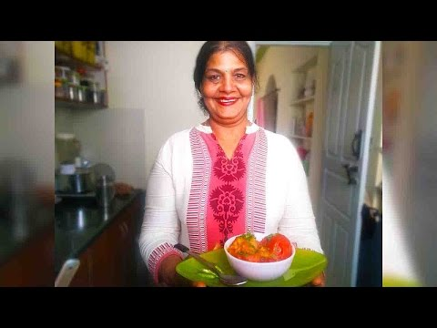 🍅Stuffed Tomato Recipe   भरवां टमाटर (Bharavaan Tamaatar) healthy vegetarian Indian food recipere