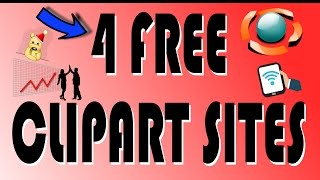 Checkout these 4 sites for free vector clipart sites that helps speed up the process of creating when using Inkscape, Illustrator or another vector editor.