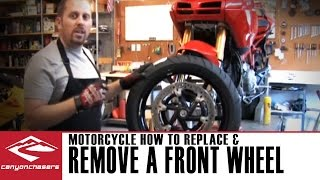 10. How to Remove and Replace a Front Motorcycle Wheel