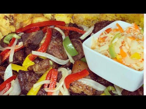 GRIOT RECIPE|| HAITIAN FRIED PORK|| HOW TO MAKE GRIOT||
