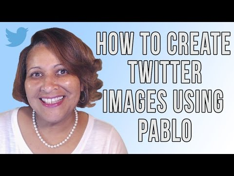 Watch 'How To Use Pablo To Add Images To Your Tweets '