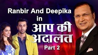 Video Ranbir Kapoor with Deepika Padukone in Aap Ki Adalat (Part 2) - India TV MP3, 3GP, MP4, WEBM, AVI, FLV Mei 2018